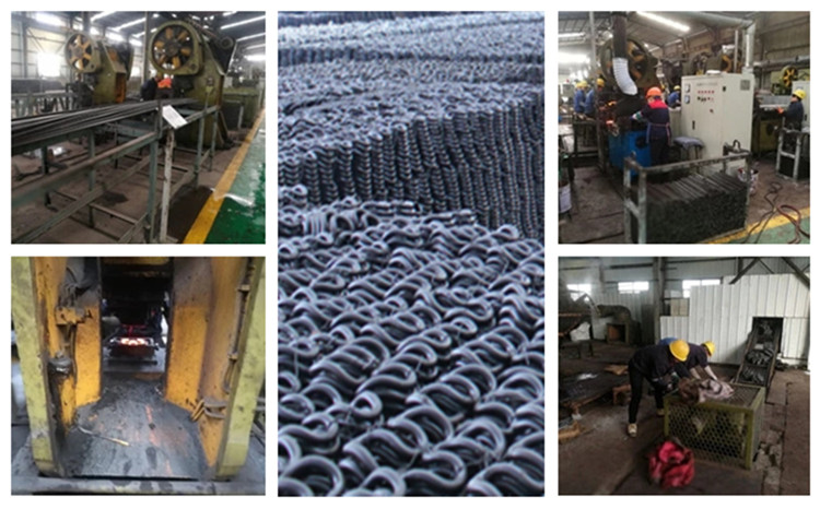 Production Process of rail clips