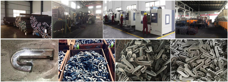 Production process of rail anchor