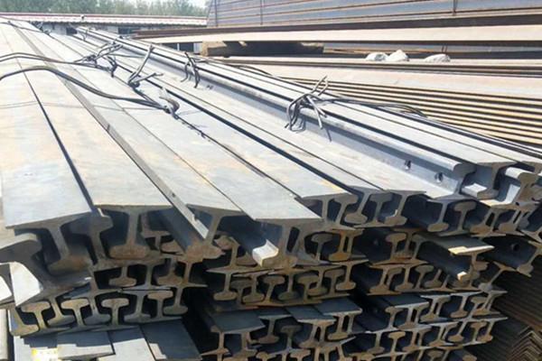 China steel rails factory