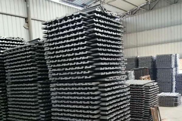 China railway fishplate factory