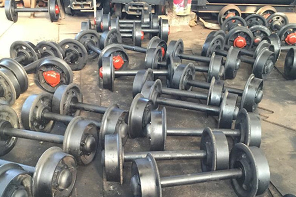 China mining cart wheels supplier